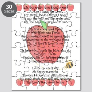Johnny Appleseed Grace Puzzle