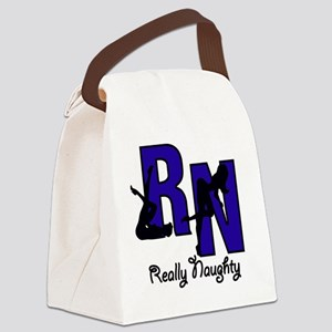 RN Really Naughty copy Canvas Lunch Bag
