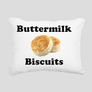 Buttermilk-Biscuits Rectangular Canvas Pillow