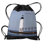 Manistee North Breakwater Light Drawstring Bag