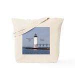 Manistee North Breakwater Light 2017 Tote Bag