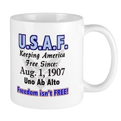 USAF Doublesided Coffee and Tea Mug