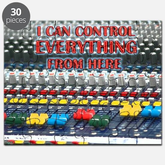 Audio Control Puzzle