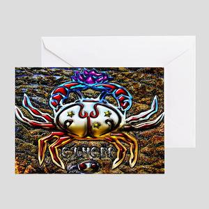 Cancer 17 x 11 Greeting Card