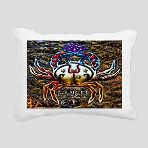 Cancer 17 x 11 Rectangular Canvas Pillow