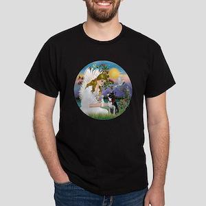 R-Angel Love - Boston Terrier 3 Dark T-Shirt