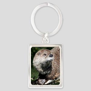 otter1_sticker Portrait Keychain