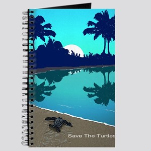 Costa Rica Blue Palms Note Cards Journal