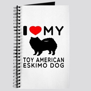 I love My Toy American Eskimo Dog Journal