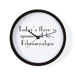 Today's Flare - Fibro Wall Clock