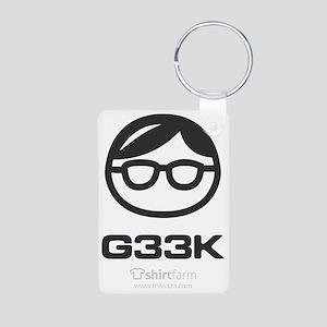 geek gearz Aluminum Photo Keychain
