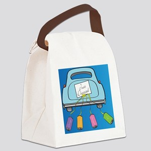 Divorce Car 1 Canvas Lunch Bag