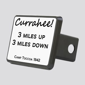 Currahee! Rectangular Hitch Cover