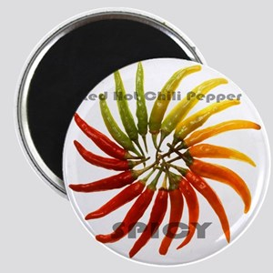 charleston_hot_peppers_white_background Magnet