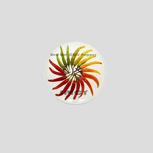 charleston_hot_peppers_white_backgroun Mini Button