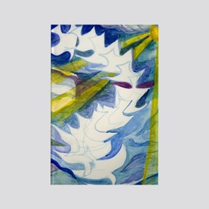 Descending-Spirit-greeting-card Rectangle Magnet