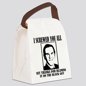 BushScrews Canvas Lunch Bag