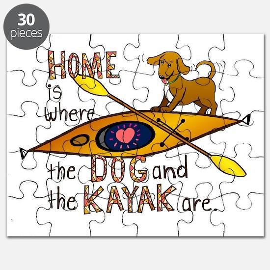 HOMEkayakDOG Puzzle