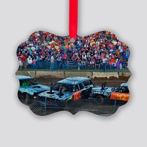 demoderby2 Picture Ornament