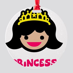 Princess dk Round Ornament