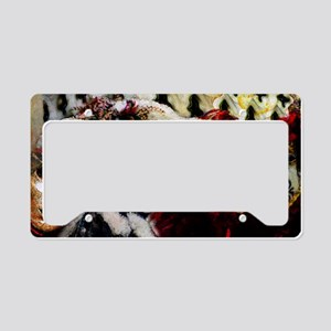 carnival_mask_a by Blake Robs License Plate Holder