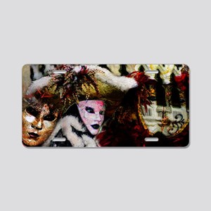 carnival_mask_a by Blake Ro Aluminum License Plate