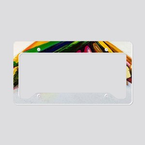colored_pencils License Plate Holder