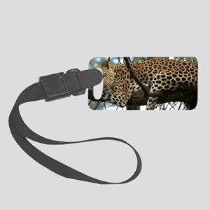 Leo Tree S print Small Luggage Tag