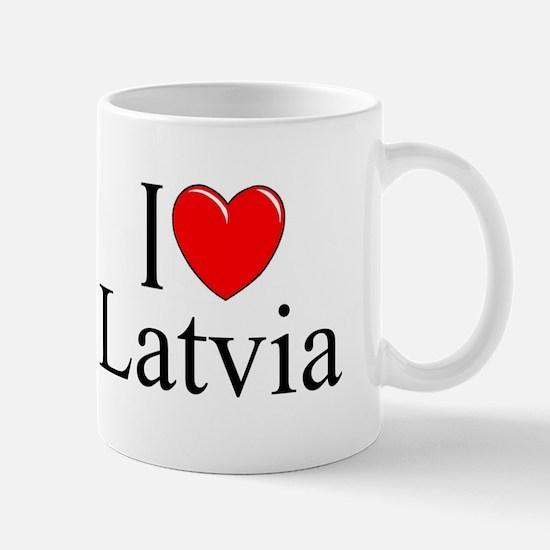 """""""I Love Latvia"""" Mug"""