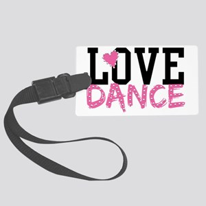 LOVE DANCE Large Luggage Tag