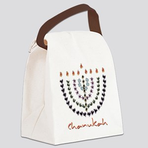 2010 New Chanukah design Canvas Lunch Bag