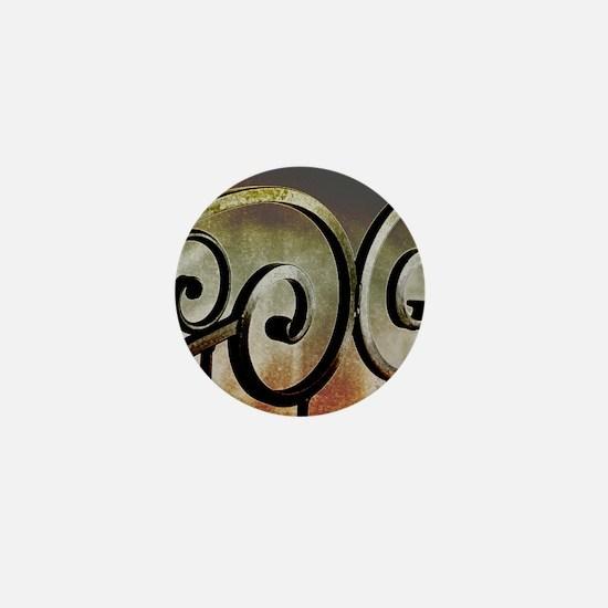 beautiful wrought iron Mini Button