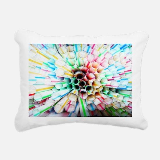 straw_abyss copy Rectangular Canvas Pillow