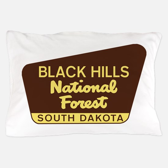 Black Hills National Forest South Dako Pillow Case