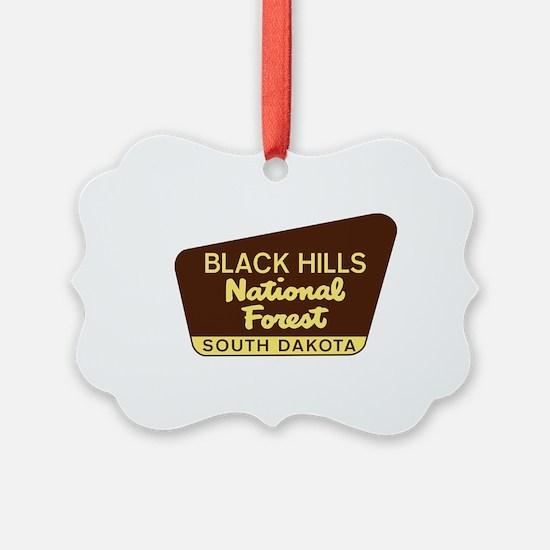 Black Hills National Forest South Ornament