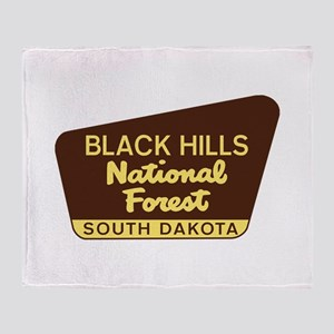 Black Hills National Forest South Da Throw Blanket