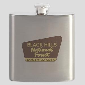 Black Hills National Forest South Dakota Flask