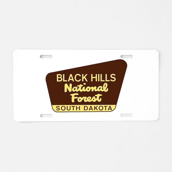 Black Hills National Forest Aluminum License Plate