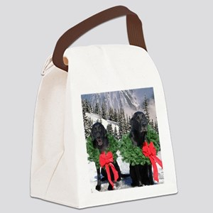 Christmaslabs 16x16  org Canvas Lunch Bag