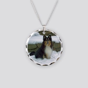 2011 orn b Necklace Circle Charm