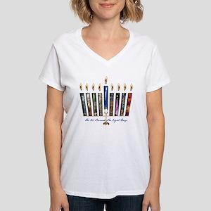 the oil burned 2 Women's V-Neck T-Shirt