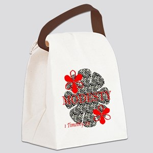 modesty Canvas Lunch Bag