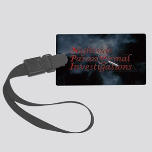 cluds copy Large Luggage Tag