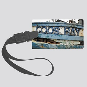 Coos Bay Large Luggage Tag