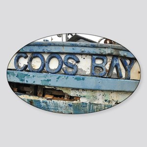 Coos Bay Sticker (Oval)