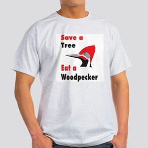 Funny Woodpecker Light T-Shirt