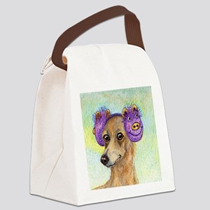 She loved these cold, crisp morni Canvas Lunch Bag