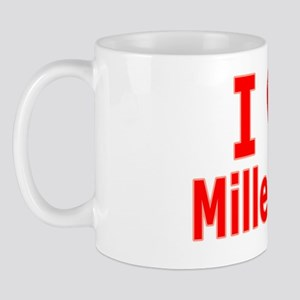 I Love Mille Lacs red Mug