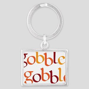gobble gobble Landscape Keychain
