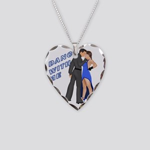 AC49 CP-24 BLUE Necklace Heart Charm